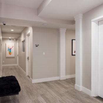 Glen Cove Hallway - Private Office Suite Rental